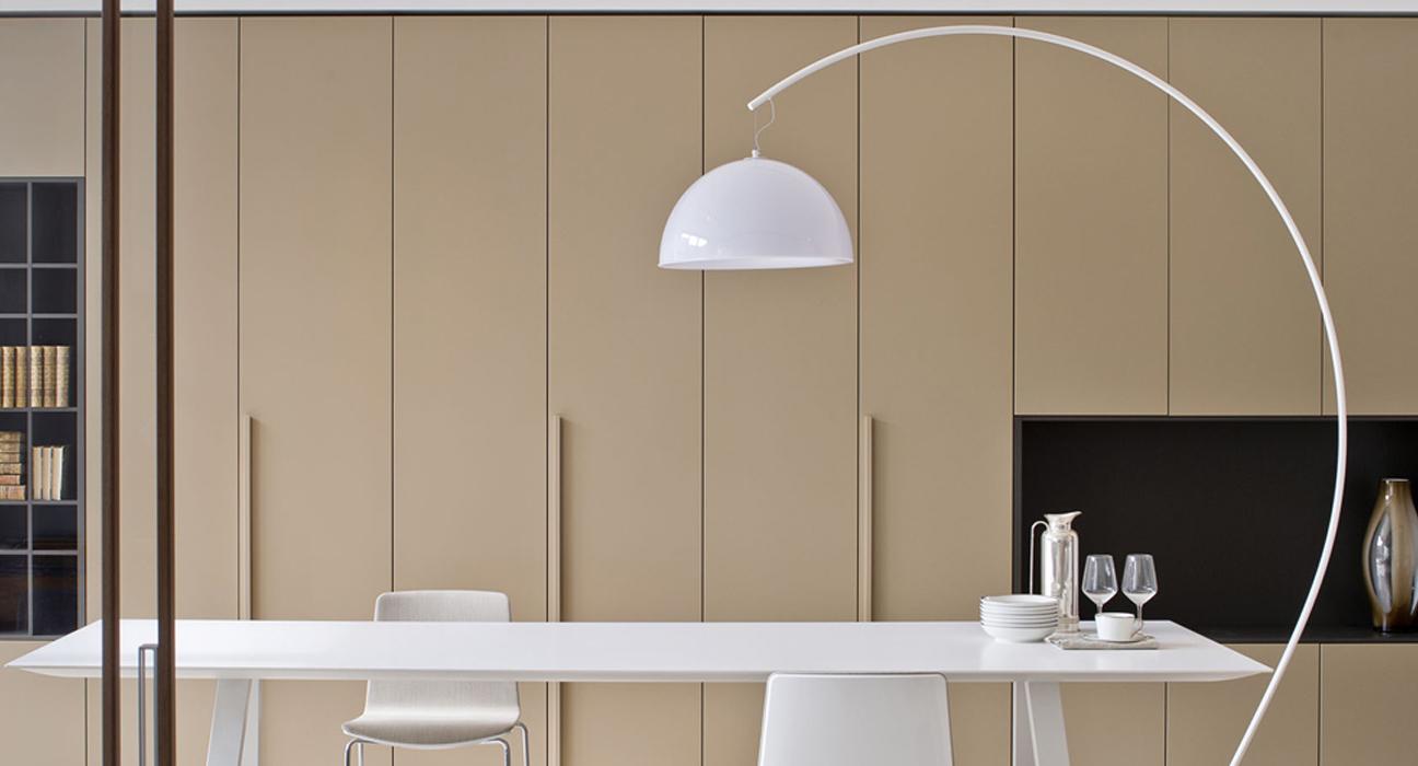 Bogenlampe Weiss Mit Dimmer ~ Bogenlampe design bogenlampe lounge deal weiss marmorfuss bis cm